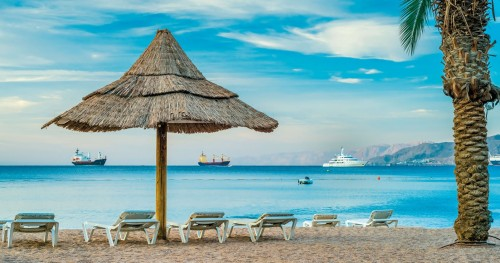 Okeanos Aparthotel Eilat beautiful beach